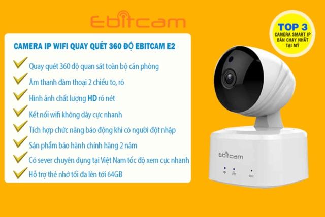 camera Ebitcam giá rẻ