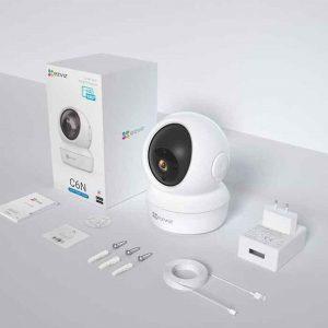 Camera Wifi Ezviz C6N 2M 1080P Đàm Thoại 2 Chiều Có Hú còi Báo Động