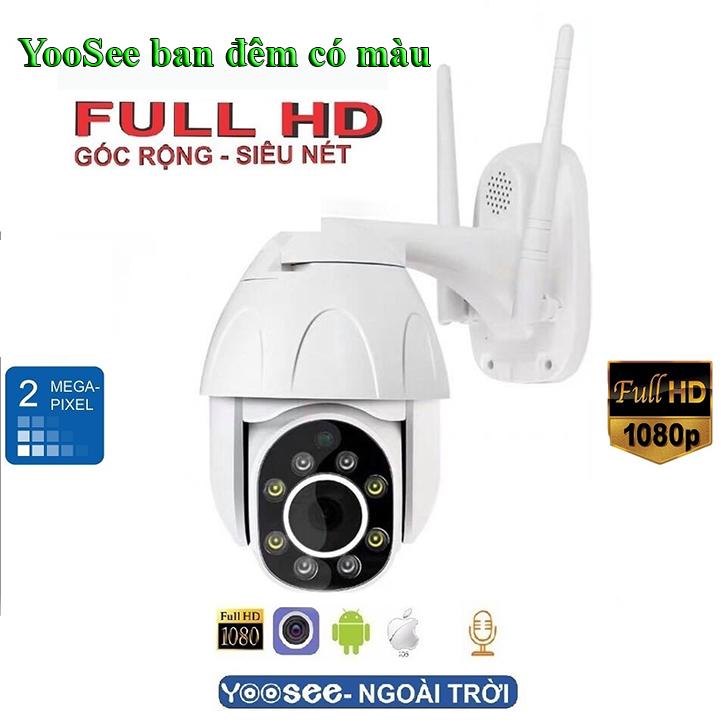 camera yoosee ptz 1080p ban đêm có màu