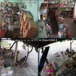 Lắp Đặt Trọn Bộ 4 Camera Dahua 2.0 tại Cửa Hàng Tạp Hóa