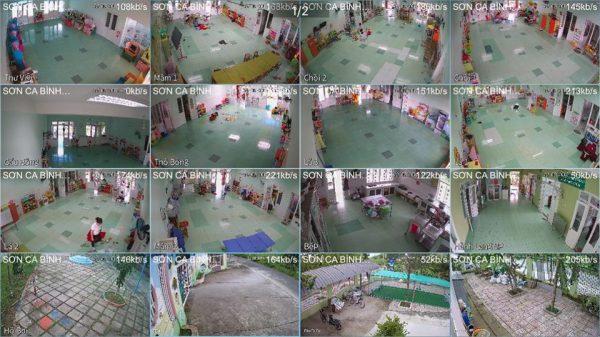 ✅ Lắp đặt camera quan sát tại trường mầm non