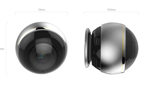 lắp đặt camera Ezviz C6P CS-CV346 Mắt Cá 360