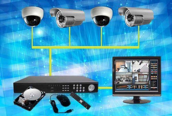 Hệ thống camera giám sát bao gồm những thiết bị nào?