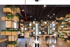 lắp đặt camera tại quán cafe