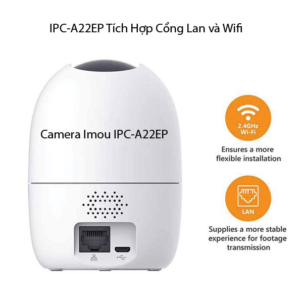 Camera wifi ranger 2 IPC-A22EP-IMOU