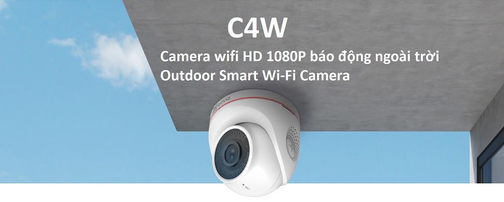 Camera Wifi Ezviz C4W chuyên nghiệp