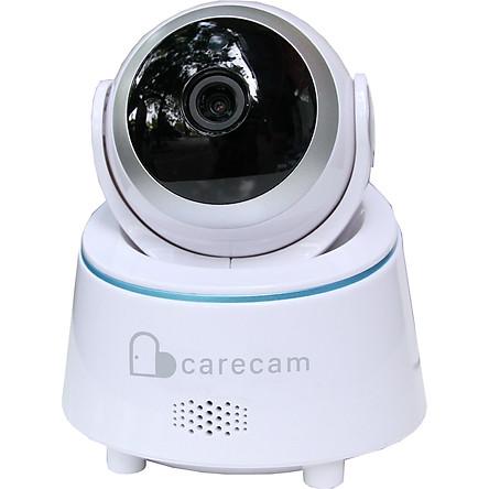 Đặc điểm nổi bật: +) Thương hiệu : Carecam +) Độ phân giải video: 1920p x 1080p Full HD +) Ống kính góc rộng 90 độ +) Xoay ngang 360 độ, xoay dọc 110 độ +) Cảm biến màn hình: 1080P 2.0M +) Số khung hình trên giây: 25fps hoặc 30fps. +) Hỗ trợ lưu trữ trên đám may và qua thẻ nhớ lên tới 128 GB +) Hỗ trợ xem được trên máy tính và điện thoại +) Nguồn đầu vào: DC12V-2A +) Nhiệt độ hoạt động: -10 độ đến 60 độ +) Độ ẩm hoạt động: tối đa 90% +) Đàm thoại 2 chiều +) Cảnh báo khi có chuyển động từ xa qua điện thoại. Mô tả sản phẩm: Được thiết kế như một chú robot bảo vệ gia đình và người thân của bạn khỏi những kẻ xấu xâm nhập một cách thông minh và hiện đại. Camera FullHD 1080-2.0MP là sản phẩm camera trong nhà tiên tiến với chất lượng hình ảnh và góc quay siêu nét. Sản phẩm này có bước tiến lớn với hỗ trợ thông minh đèn hồng ngoại ẩn xem đêm cực nét. Camera Carecam thiết kế nhỏ gọn, tinh tế đã trở thành một sản phẩm hỗ trợ bảo vệ gia đình tiện lợi, dễ sử dụng với nhiều tính năng thông minh và đơn giản. Camera được tích hợp micro và loa. Vì vậy, bạn có thể nói chuyện với các thành viên khác trong gia đình thông qua điện thoại thông minh của bạn từ xa bất cứ khi nào bạn muốn. Bất kỳ chuyển động đáng ngờ nào nẻn vào mắt camera sẽ được phát hiện và ghi lại khiến kẻ trộm và kẻ cướp không thể trốn tránh. Đồng thời, bạn sẽ nhận được cảnh báo ngay lập tức trên các thiết bị thông minh của mình mọi lúc mọi nơi khi điện thoại bật mạng. Trang bị với hiệu suất cao đèn led hồng ngoại, camera này cung cấp cho bạn tầm nhìn ban đêm rõ ràng. #camera #camera ip #camera hd #camera giám dát #camera wifi #camera hd #camera trong nhà #camera full hd #camera #camerawifi #camerangoaitroi #cameraip #cameraipwifi #camerawifiip #cameragiamsat #cameraanninh #camerawifingoaitroi #ipwifi #camerakhongday #camerachatluong #cameragiare #camerachinhhang #ipcamera #camerachongnuoc #cameratrongnha #wificamera