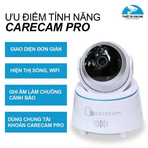 Camera wifi Carecam LHY200-T 2.0MP Full HD 1080P