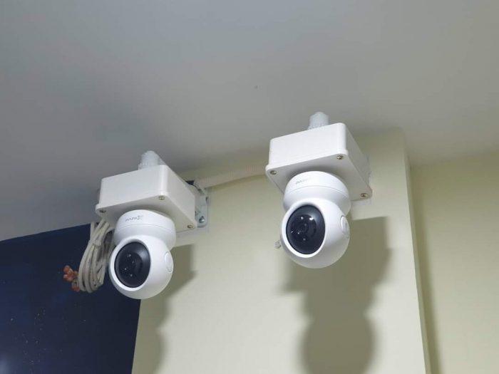 Góc lắp đặt camera khi mua camera wifi tự lắp
