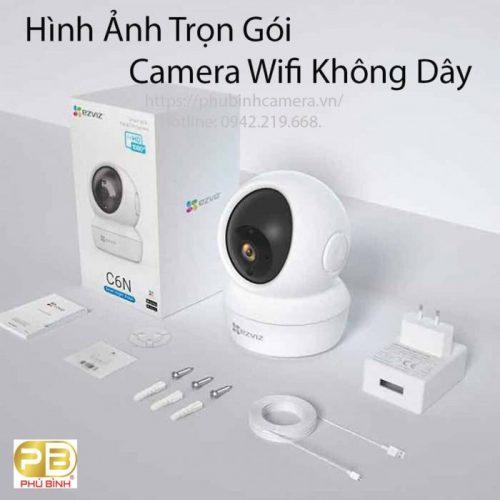 Lắp trọn gói camera Wifi Ezviz C6N 2M 1080P